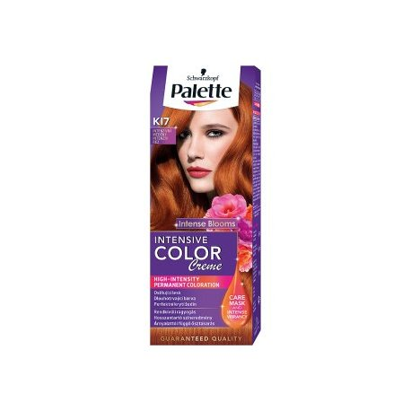 Palette farba na vlasy K17 - Intenzivná medená