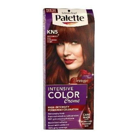 Palette KN5 - Jahodovo hnedá