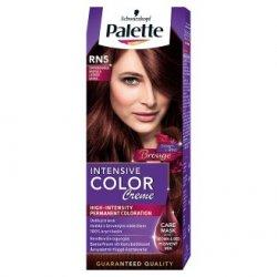 Palette farba na vlasy  - Černvenohnedá RN5