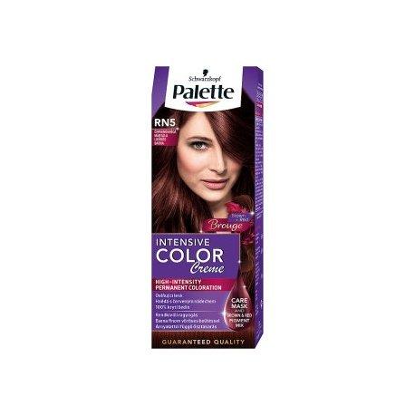 Palette farba na vlasy RN5 - Černvenohnedá