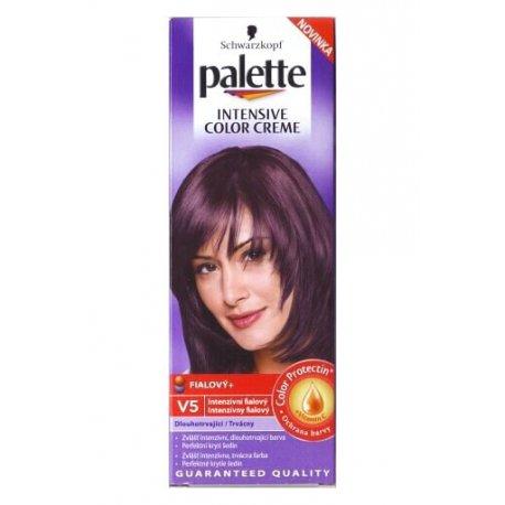 Palette farba na vlasy V5 - Intenzívny fialový