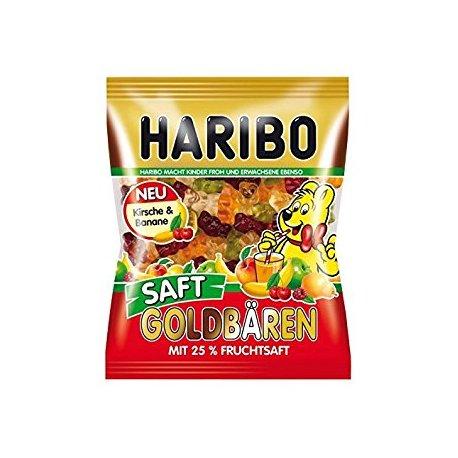 Haribo Goldbären Saft  želé s ovocnými príchuťami 85 g