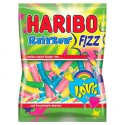 Haribo Fizz Rainbow želé s ovocnými príchuťami 85 g