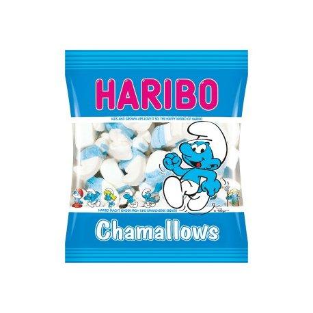 Haribo Chamallows šmolkovia penové cukrovinky 100 g