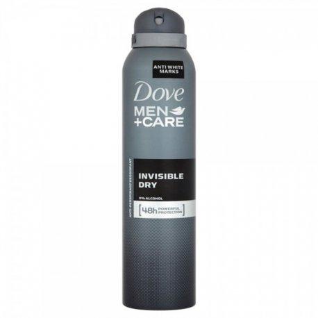 Dove pámsky  dodorant  150ml - Men Invisible dry