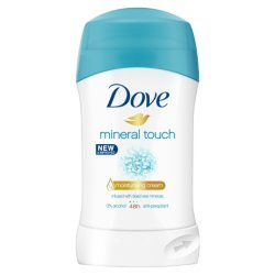 Dove Mineral Touch  tuhý antiperspirant 40 ml
