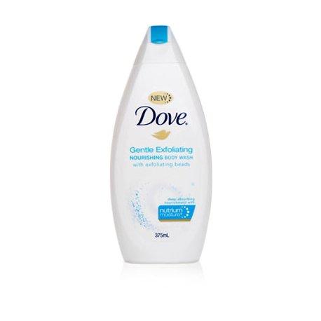 Dove dámsky sprchový gel 250ml Gentle Exfoliating