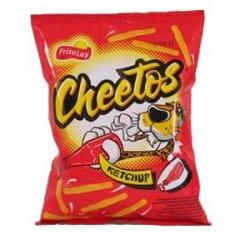 Cheetos Extrudovaný kukuričný výrobok s príchuťou kečupu 43 g