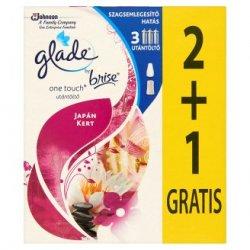 Glade by Brise One Touch Japonská záhrada náplň 3 x 10 ml