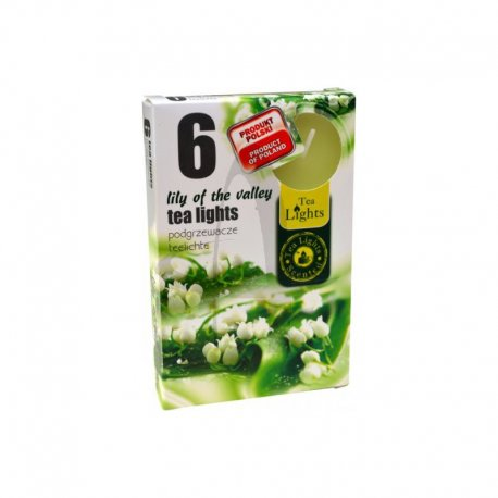Amit Tea lights konvalinka 6x12g