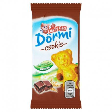 Gyori Dormi Jemné pečivo s čokoládovou náplňou 30 g