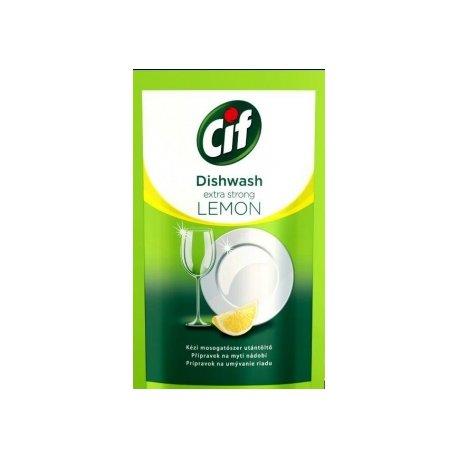 Cif náplň na umývanie riadu 500 ml - Lemon