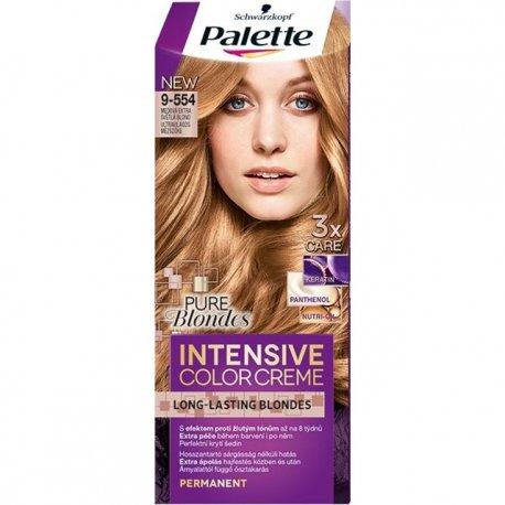 Schwarzkopf Palette Intensive Color Creme farba na vlasy Medový Extra Svetlý Blond 9-554
