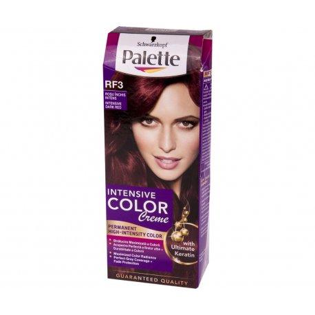 Schwarzkopf Palette Intensive Color Creme farba na vlasy Intenzívny Tmavé červený RF3