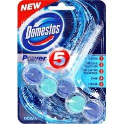 Domestos Power 5 Ocean tuhý WC blok 55 g