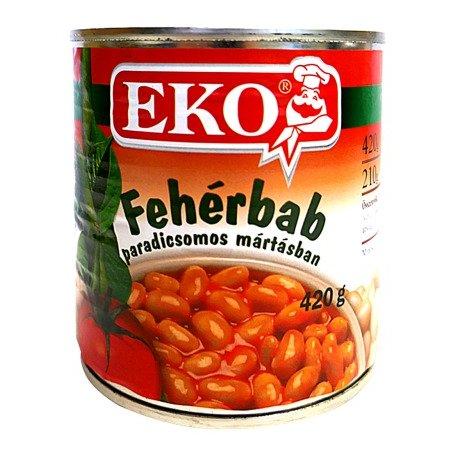 Eko Biela Fazuľa v paradajkovej omáčke 420 g