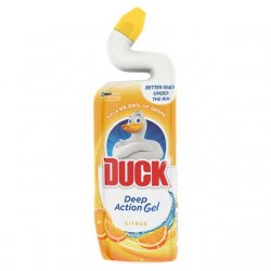 Duck Cleaning Gel Citrus Wc tekutý čistící prostriedok 750ml