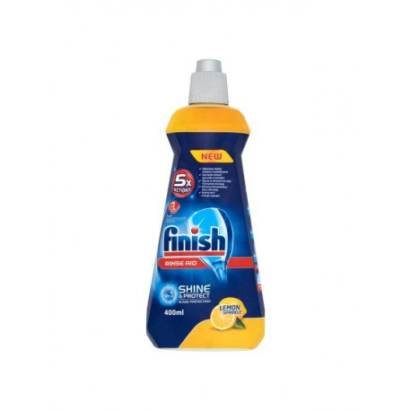 Calgonit Finish Shine & Dry Lemon leštidlo 400 ml