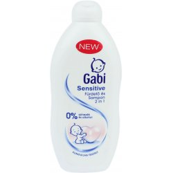 Gabi 2v1 Sensitive Pena +šampón 400ml