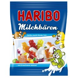 Haribo Milchbären ovocné želé 85 g