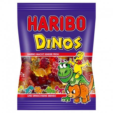Haribo Dinosaurier mäkké želé cukrovinky s ovocnými príchuťami 85g