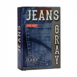 Jeans after shave - Gray 100ml