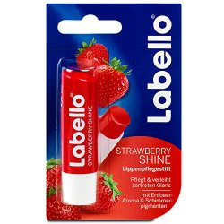 Labello Strawberry Shine Tónovací balzam na pery 4,8g
