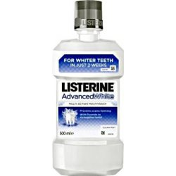 Listerine Advanced White Clean Mint ústna voda 500 ml