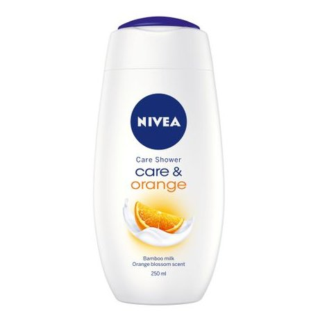 Nivea sprchový gel - Care Orange 250ml