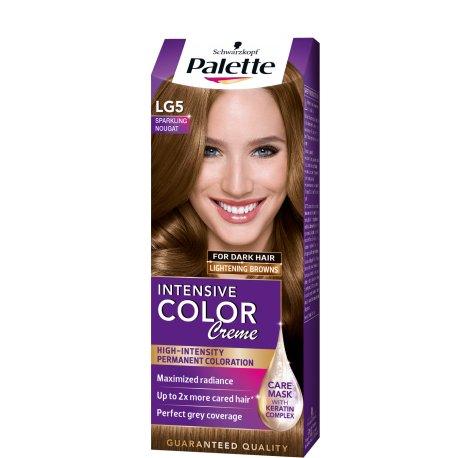 Palette farba na vlasy  - Trblietavý nugát LG5