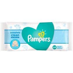 Pampers Baby Complete Clean vlhčené utierky 64 ks