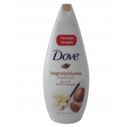 Dove sprchový gel + pena do kúpeľa Purely Pampering Shea Butter 700 ml