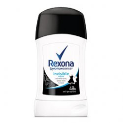 Rexona dámsky tuhý antiperspirant Invisible Aqua 40 ml
