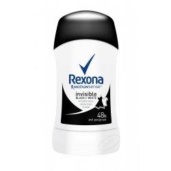 Rexona dámsky tuhý antiperspirant - Invisible Black White 40ml