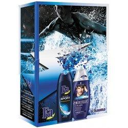 Darčeková kazeta pánska Schauma šampon For Men 250ml+ Fa sprchový gel Sport 250ml