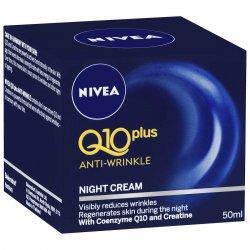 Nivea Q10 Power Spevňujúci nočný krém proti vráskam 50 ml