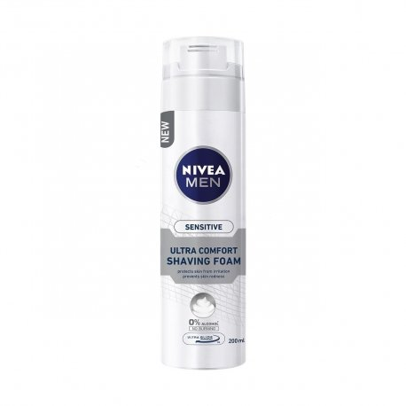 Nivea Men Sensitive Pena na holenie 200 ml