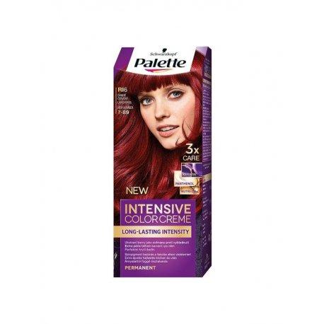 Palette Intensive Color Creme farba na vlasy Ohnivo Červený 7-89 (RI6)