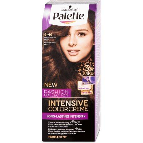 Palette Intensive Color Creme farba na vlasy Teplý Béžovolesklý 5-46