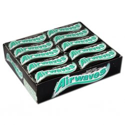Airwaves Black Mint žuvačka 14g
