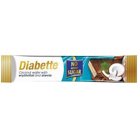 Diabette oblátka bez cukru s náplňou kokos 26g