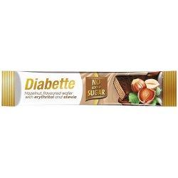 Diabette Oblátky s arašidovou náplňou v kakaovej poleve 0% cukor 26g