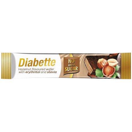 Diabette Oblátky s arašidovou náplňou v kakaovej poleve 26g