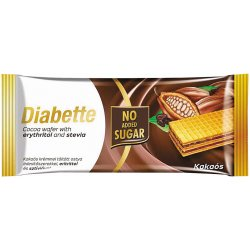 Diabette oblátka bez cukru s náplňou kakao 40 g