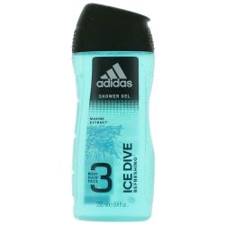 Adidas Ice Dive Men sprchový gél 3in1  250ml