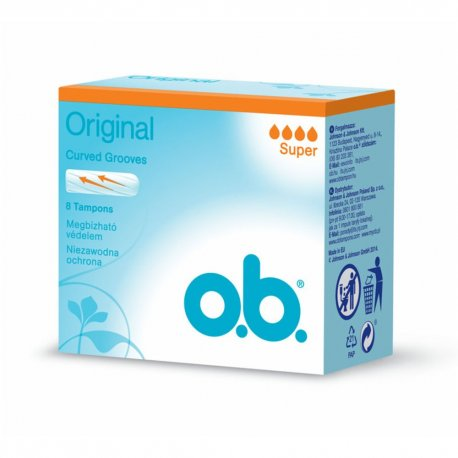 OB ® Original Tampóny Super 8ks