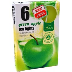 Tea lights green apple 6 x 12 g