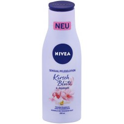 Nivea telové mlieko cherry blossom 200 ml