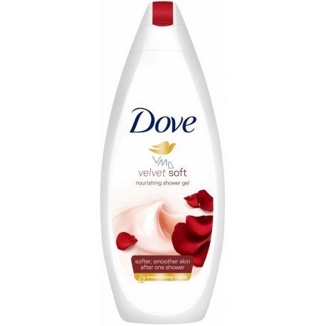 Dove sprchový gél Velvet Soft 250 ml