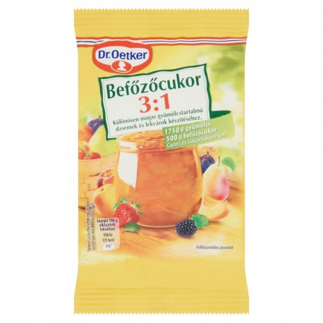 Dr. Oetker želírov. cukor 3:1 500 g